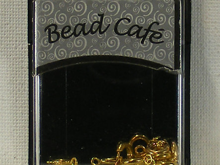 Bead Cafe - Spring Clasps (Gold).