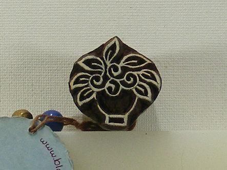 Block Wallah - Flower Pot Stamp