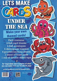 Craftstyle - Lets Make Cards - Under The Sea