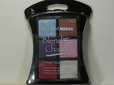 Plaid - All Night Media Blending Chalks - Vintage.