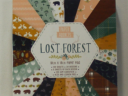 Paper Addicts - Lost Forest Paper Pad