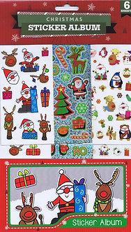 MC - Christmas Sticker Album