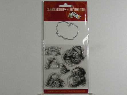 Craft Sensations - Clear Stamps & Cutting Die.
