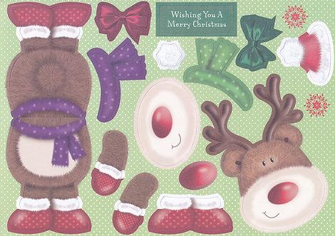 Kanban - Reindeer Wobbler Topper
