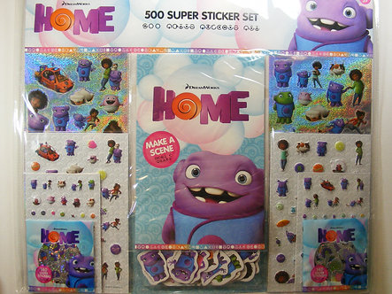 Dreamworks Home  Super Sticker Set.
