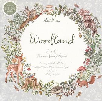 """Craft Consortium - Woodland 6"""" x 6"""" Pad"""