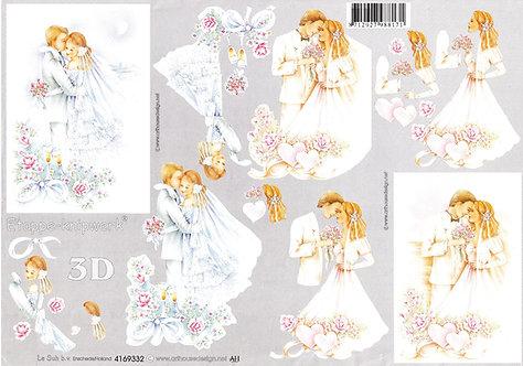 Le Suh 3D Decoupage - Wedding Day.