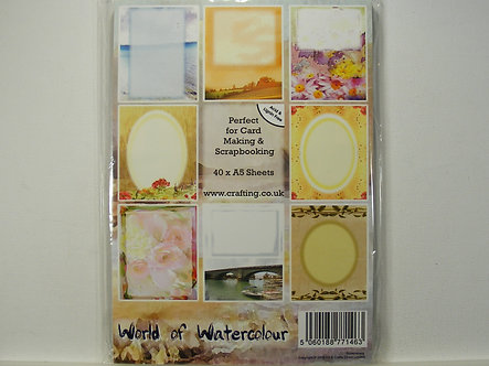 Crafting.co.uk - World Of Watercolour A5 Pad