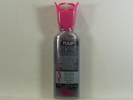 Tulip - Glitter Dimensional Fabric Paint - Rose Quartz