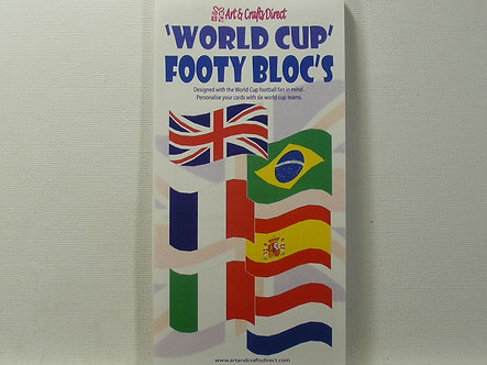 Arts & Crafts Direct - Paper Bloc's - World Cup.