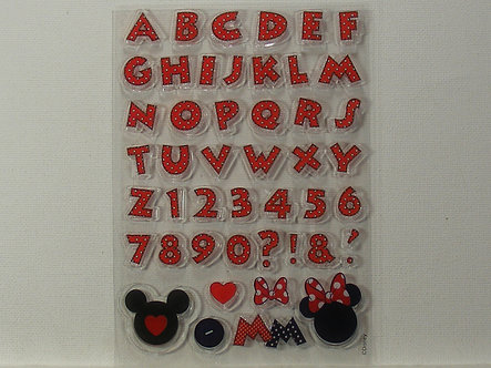 Disney - Minnie Mouse Alphabet Stamps