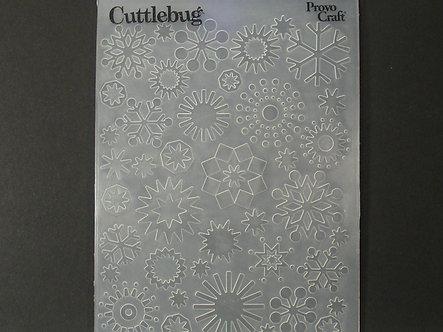 Provo Craft - Snowflake Embossing Folder