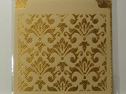 Kanban - Ornate Background Stencil.