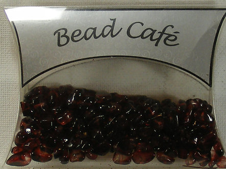 Bead Cafe - Red Glass Bead Chips (40gms)