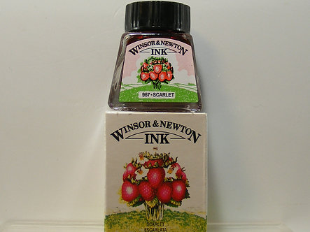 Winsor & Newton - Drawing Ink 14ml (Scarlet)