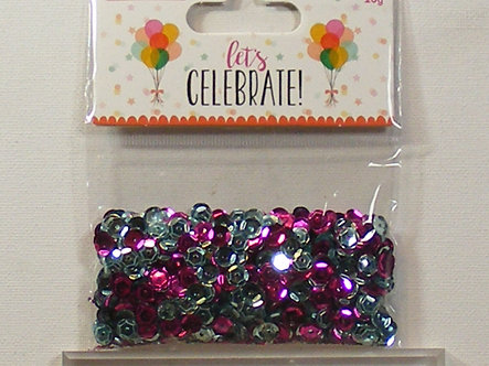 Love To Craft - Let's Celebrate Sequins.