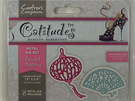 Catitudes - Oriental Additions Die Set