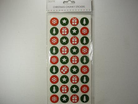 Simply Creative - Christmas Chunky Stickers.