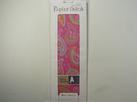 Docrafts Papermania - Deco Sheets  Colour Paisley