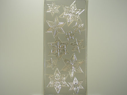 Craftstyle - Christmas Peel Off (Silver)