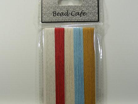 Bead Cafe - Cotton Cord - Neutrals.