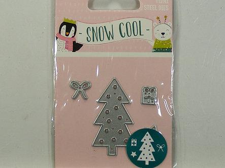 Hobbycraft - Snow Cool - Tree Mini Die Set