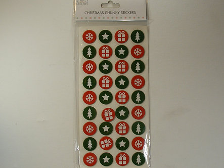 Simply Creative - Christmas Chunky Stickers.