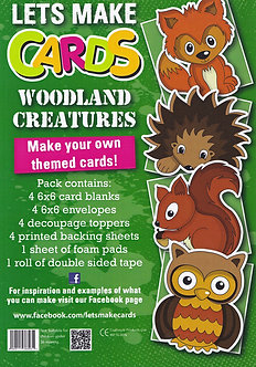 Craftstyle - Lets Make Cards - Woodland Creatures
