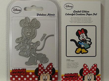 Disney - Minnie Mouse Die & Paper Pad LE
