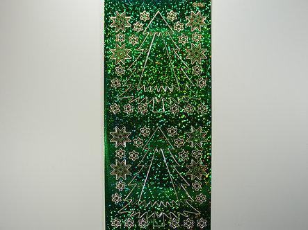 Christmas Peel Offs - Christmas Trees & Stars