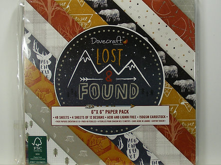 """Dovecraft - Lost & Found 6"""" x 6"""" Paper Pack"""