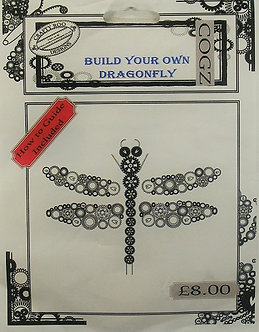 Crafty Roo Designs - Build Your Own Dragonfly Acrylic Stamps