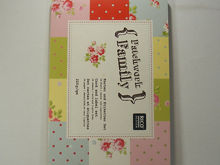 Rico Designs - Patchwork Family Card & Label Set