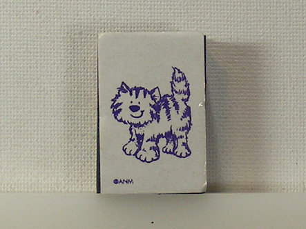 ANM - Cartoon Cat Foam Mounted Rubber Stamp