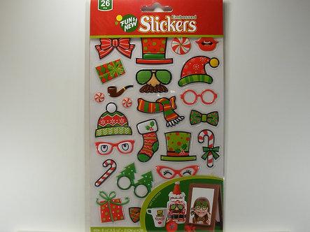 Uncle Bills - Fun Embossed Stickers