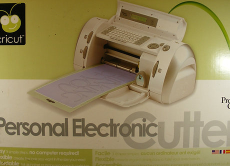 Cricut - Personal Electronic Cutter (Boxed)