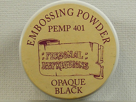 Personal Impressions - Opaque Black Embossing Powder