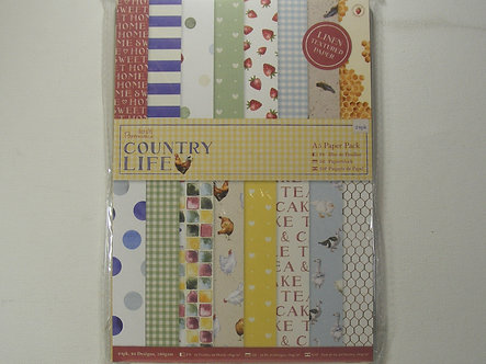 Docrafts - Country Life A5 Paper Pack