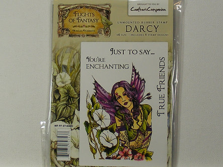 Crafters Companion - Flights Of Fantasy Darcy Rubber Stamp