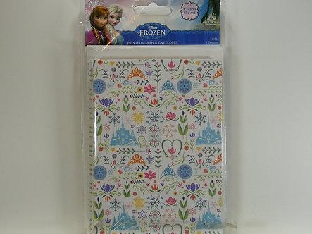 Disney's Frozen - Printed Cards & Envelopes (10pk)