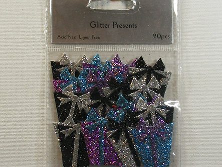 Craftime - Glitter Present Toppers