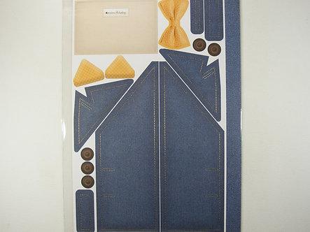 Kanban - Klothing Navy Suit Jacket Topper