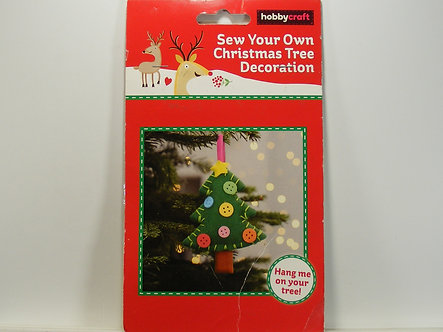 Hobbycraft - Sew Your Own Christmas Tree Decoration