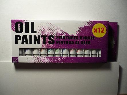 SIL - Oil Paints x 12.