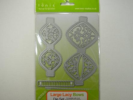 Tonic Studios - Large Lacy Bows Die Set