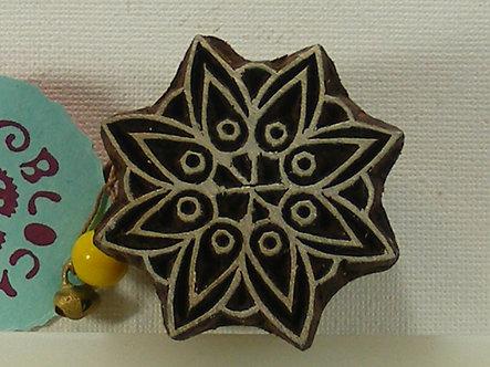 Block Wallah - Petal Mandala Stamp