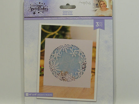 Crafters Companion - Glittering Snowflake Collecton - Frosted Flurry Die
