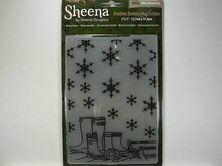 Sheena Douglass - Snowy Boots Folder
