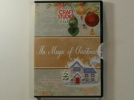 My Craft Studio Elite - The Magic Of Christmas CDrom.