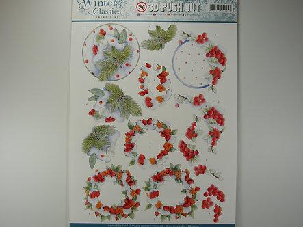 Jeanine's Art - Winter Classics 3D Decoupage Sheet
